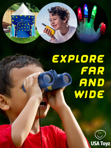 Let little explorers set their imaginations to hyper-drive as they create their own, out-of-this-world play experience.
