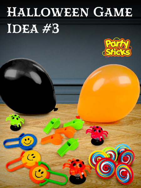 Halloween Party Ideas DIY Games for Halloween or trick or treat candy alternatives, classroom game prizes Halloween piñata fillers and goody bag stuffers