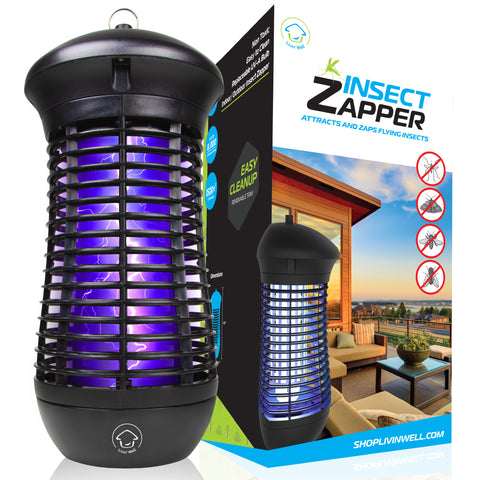 get this bug zapper for an extra layer of protection for your family