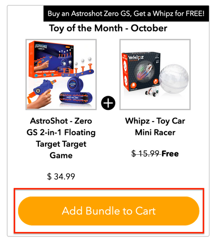 Toy Of The Month - October 2020 - USA Toyz