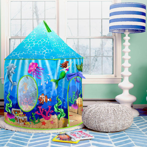 Under-The-Sea Play Tent For Kids   USA Toyz