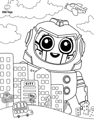 Fun Activities and FREE Coloring Pages for Kids - USA Toyz