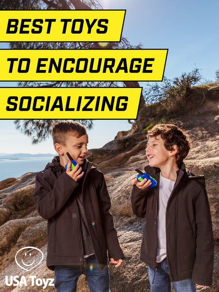 Walkie Talkies are great conversation starters for kids. The best way to enhance your children's social skills while they are having fun. Encourage play pretend and creative imagination.
