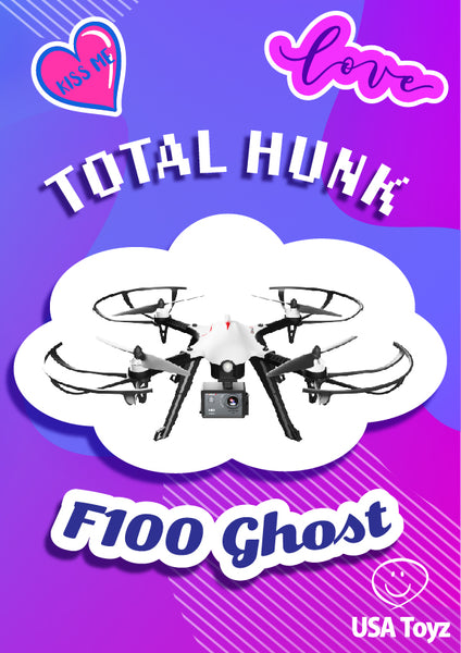 Check out this new F100 Ghost drone by taking a USA Toyz quiz to find out if this drone is the perfect fit. Know more if you or your teen is a match for beginner drones, FPV drones or camera drones.