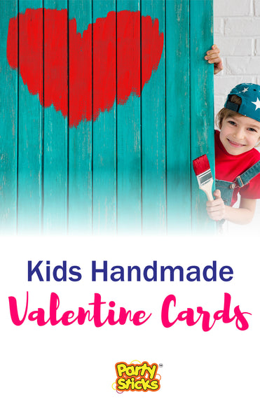 Unique ideas for kids to make DIY handmade Valentine's day cards for friends and classmates