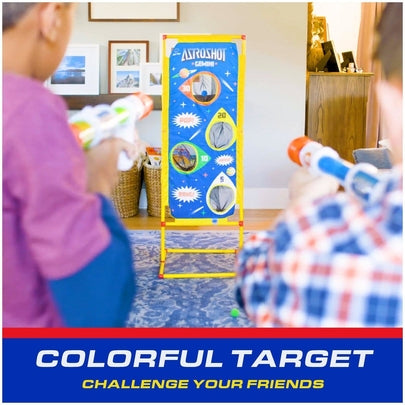 Air blaster guns for kids that require no batteries; experience action-packed play time with family and friends