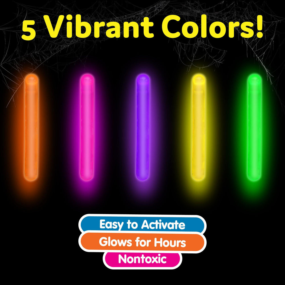 "200pk Mini 2"" Glow Sticks Set"