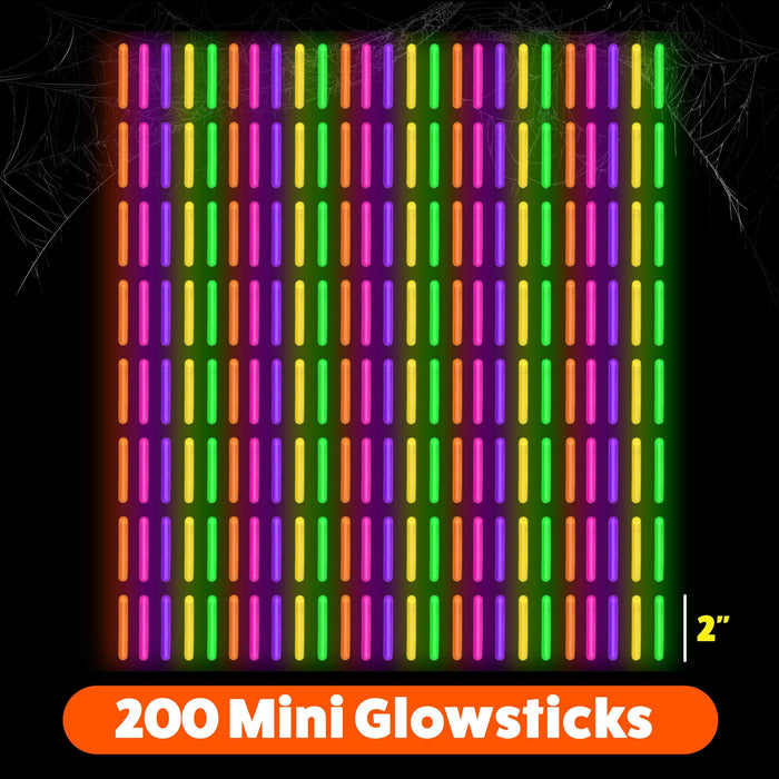 Mini Glow Sticks 2""