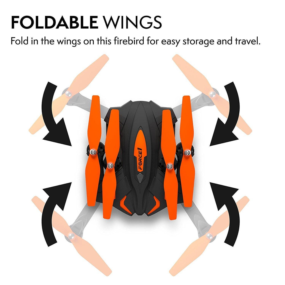 F111 Phoenix Foldable Wi-Fi FPV Live Video Drone