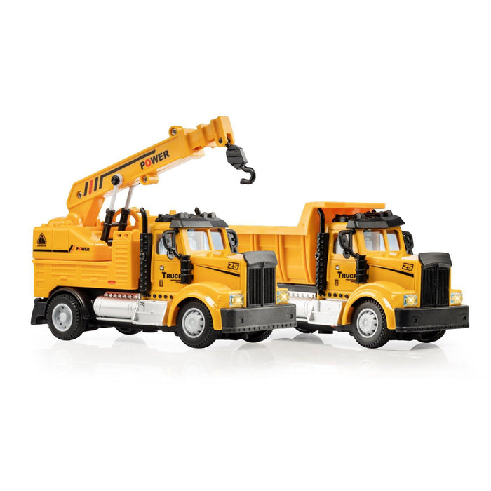 2-in-1 Mini Construction Trucks
