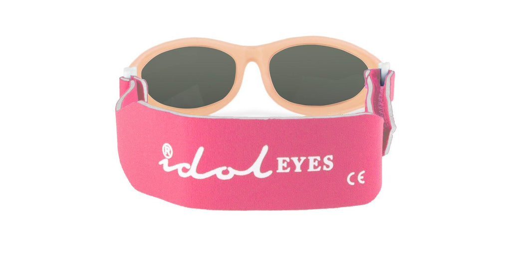 Baby Wrapz Sunglasses with Adjustable Strap for 100% UV Protection