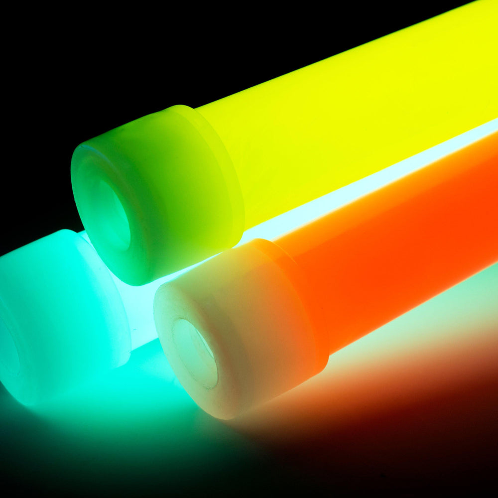 "25pk Bulk Glow Sticks - 6"" Multi-color"
