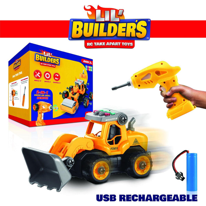 Lil' Builders 4-in-1 Construction Truck