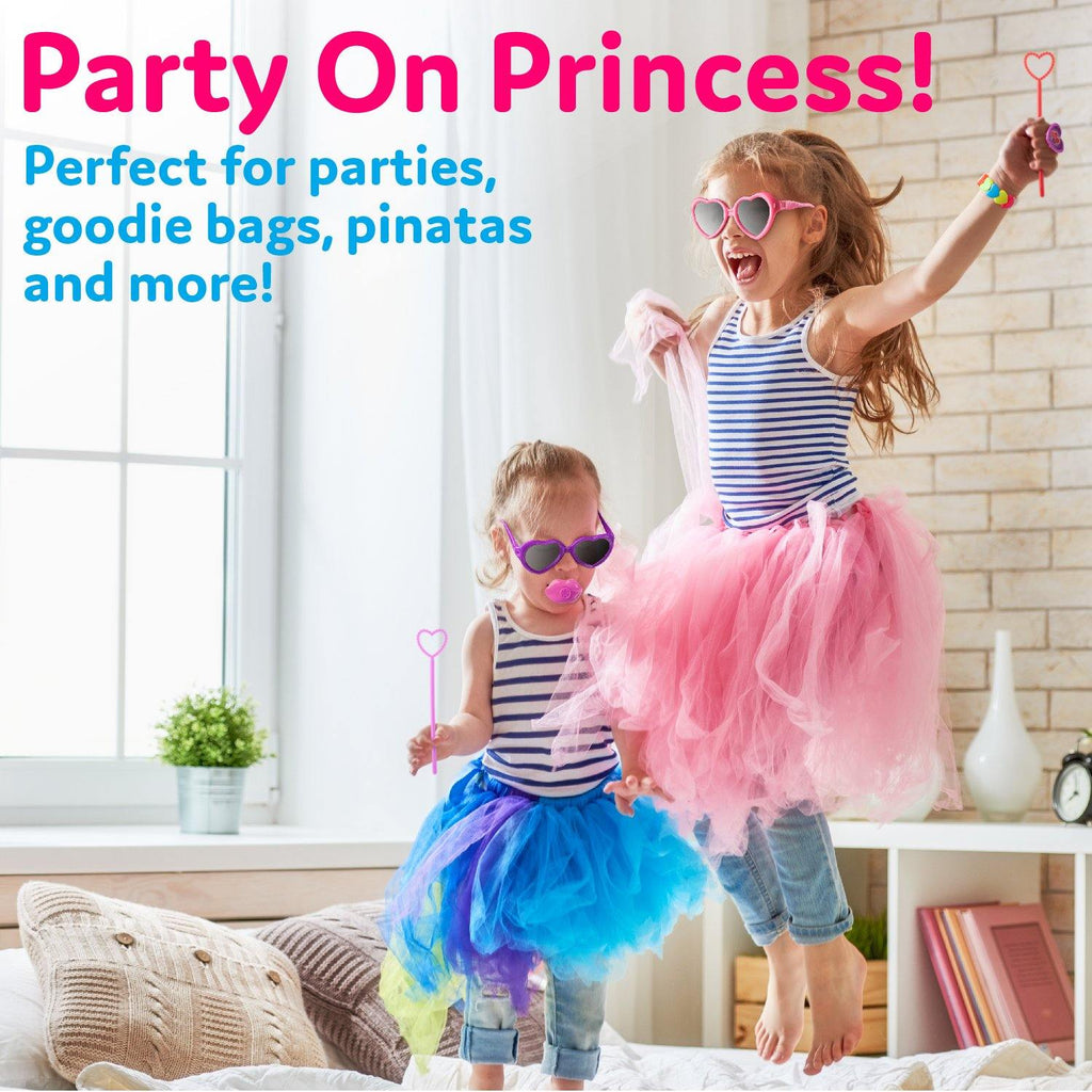 Princess Party Pack Kids Toys - 100 Count Bulk Party Favors