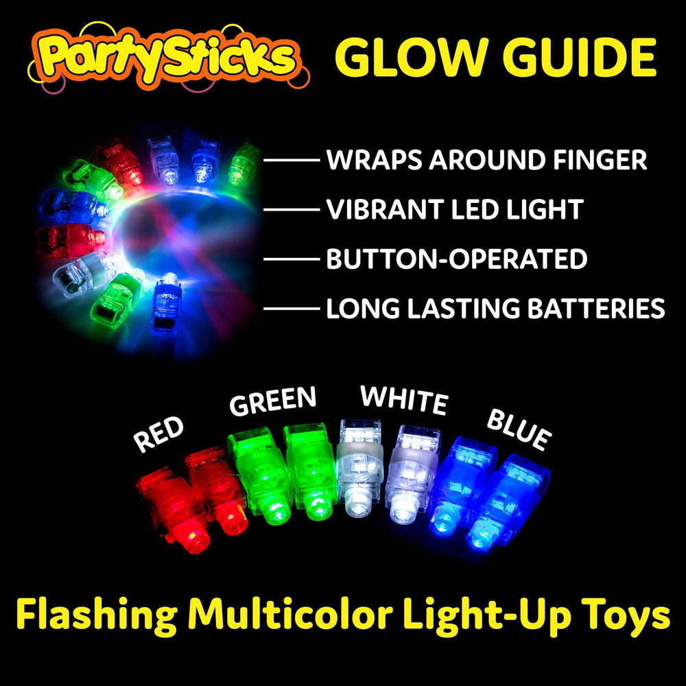 LED Finger Lights - 100 Count