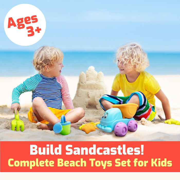 Beach Toys Sand Molds Kit (Animals)