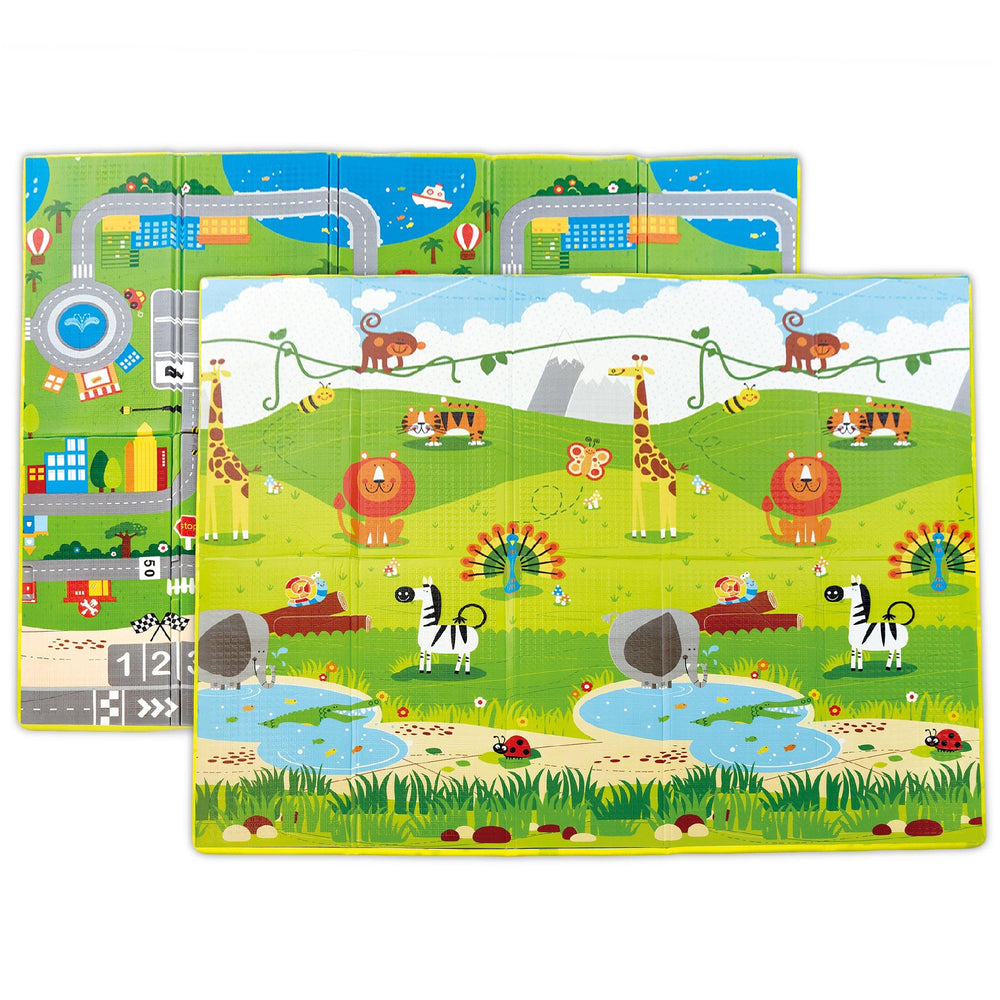 "Hape Foldable Play Mat with Case (4'10""x5'10"")"