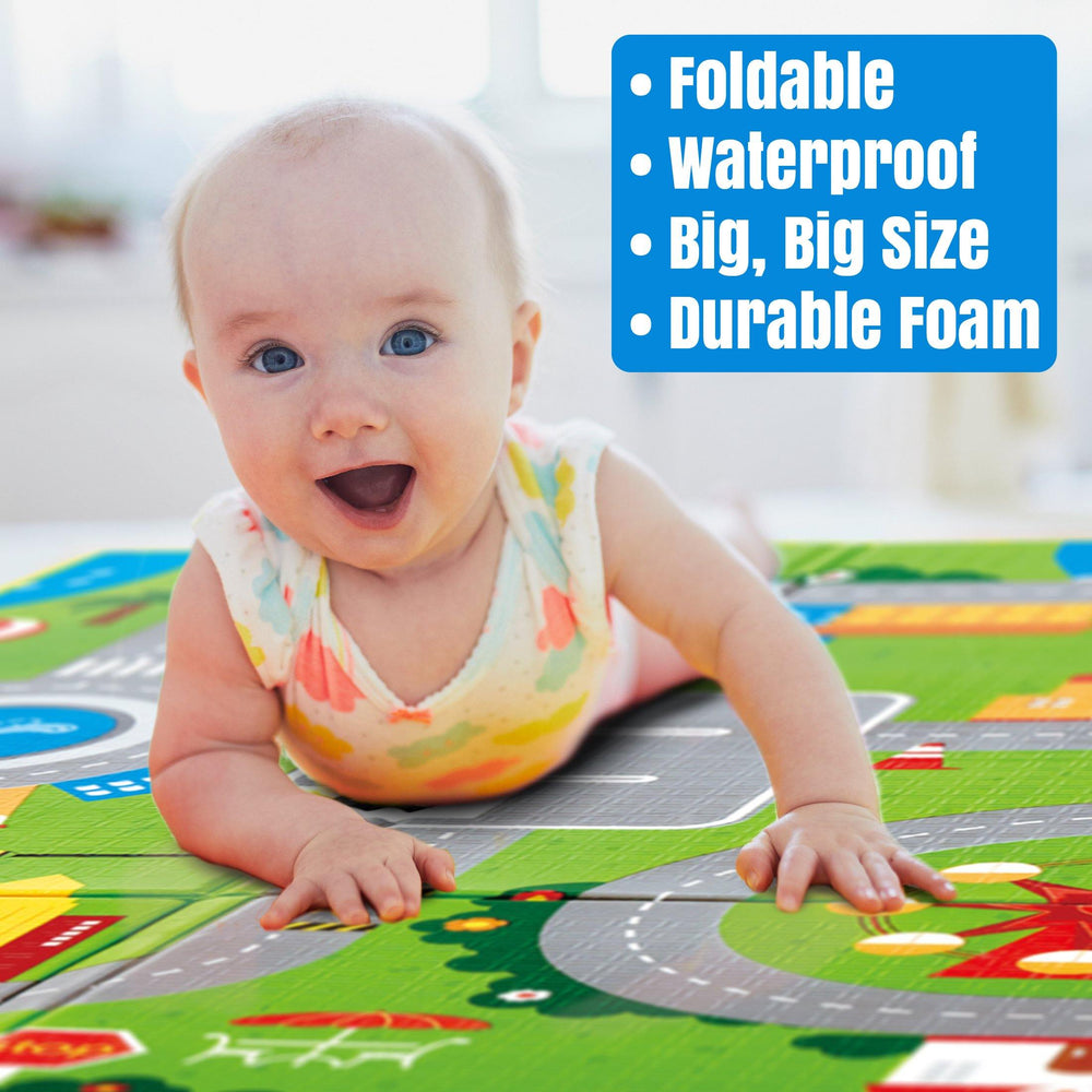 "Hape - Foldable Play Mat (4'10"" X 5'10"")"