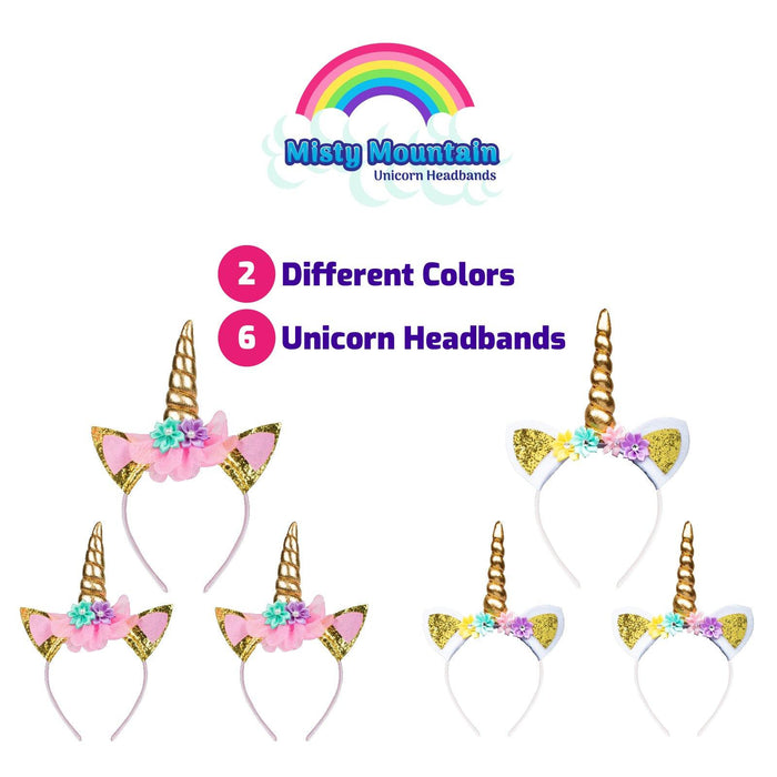 Unicorn Headband Party Supplies - USA Toyz