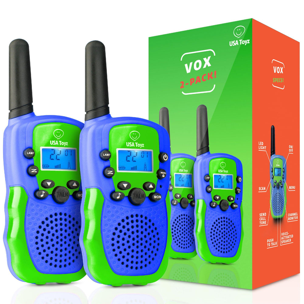 Vox Box - Long Range Walkie Talkies (3 Color Options)