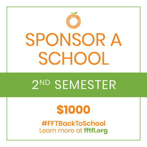 Second Semester- Sponsor A School