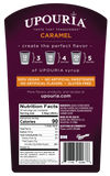 Upouria Caramel Syrup Naturally Flavored Syrup 100% Vegan, Gluten-Free, 750ml bottle - Pump included
