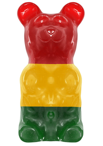 World's Largest Gummy Bear, Approx 5-pounds Giant Gummy Bear - Classic / Astro