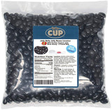 Jelly Belly - 2 Pound Bag, Licorice Jelly Beans - with By The Cup Portion Control Jelly Bean Scoop