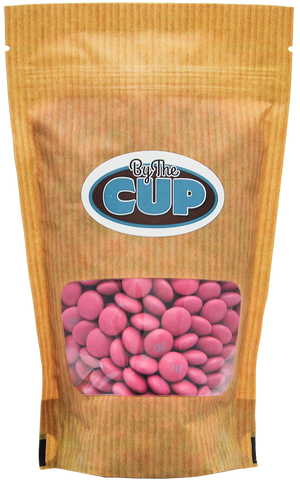 M&M's Dark Hot Pink Milk Chocolate Candy 1LB Bag
