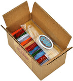 Stash Black, Oolong & Decaf Tea Sampler - 40 Tea Bag, 20 Flavor Assortment - With By The Cup Honey Stix