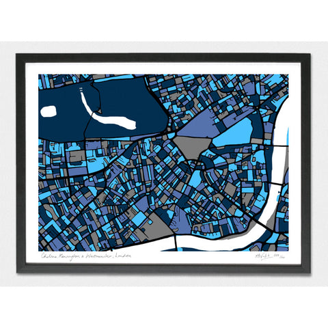 Kensington, Chelsea and Westminster Limited Edition Print