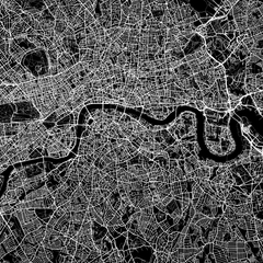 Detail view of London by Maptrail on Artymaps