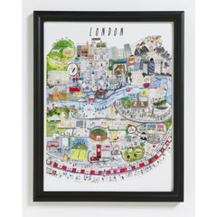 London Mapped Out Print