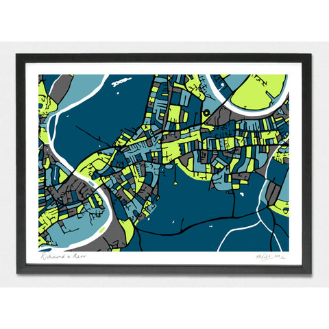 Richmond and Kew Limited Edition Print