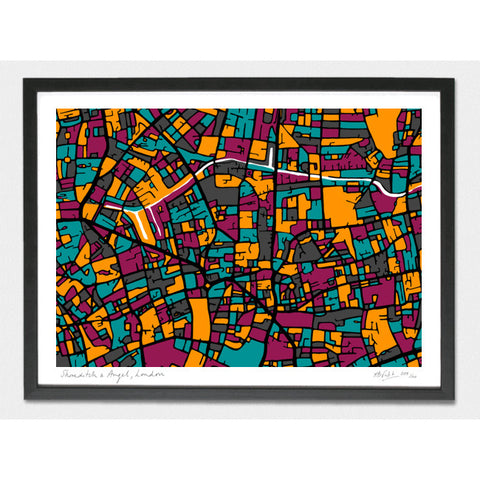 Shoreditch and Angel Limited Edition Print