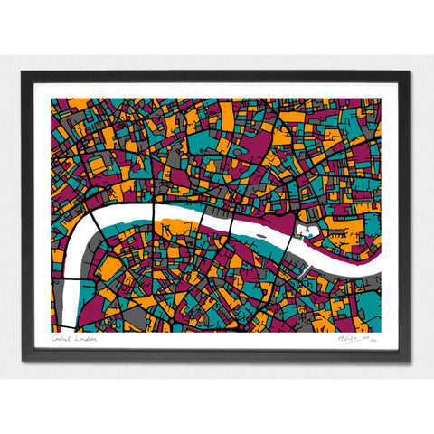 Central London Limited Edition Print