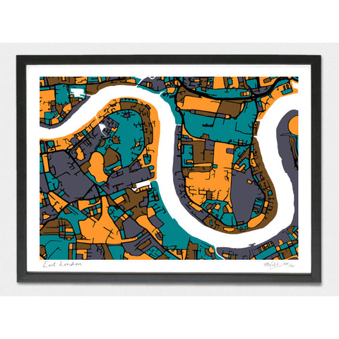 East London Limited Edition Print