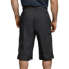 "Dickies Men's Shorts - 15"" Loose Fit Multi-Use Pocket Work Short - Black"