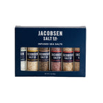 Jacobsen Salt Co Six Vial Infused Salt Set