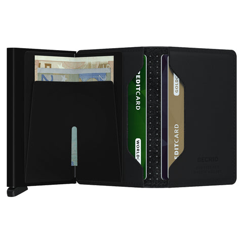 Secrid Unisex Wallets - Slimwallet - Perforated Black