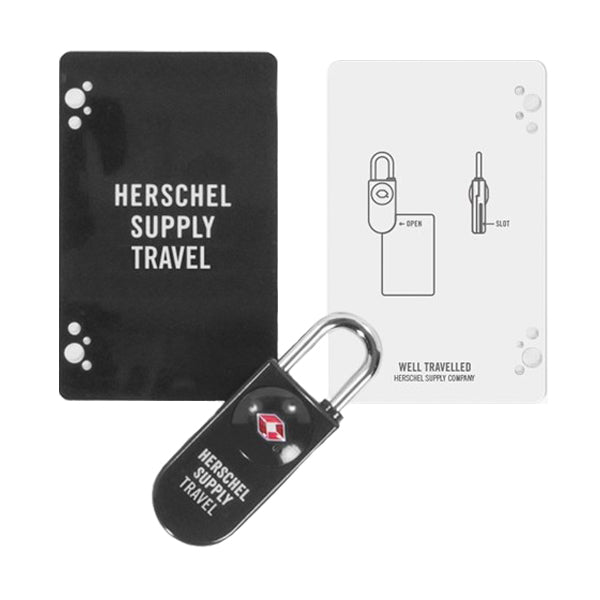 Herschel Supply Co. Travel Accessories - TSA Lock - Black