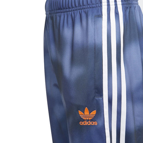 Adidas Boy's Pants - Allover Print Camo SST Pants - Crew Blue/Multi/White