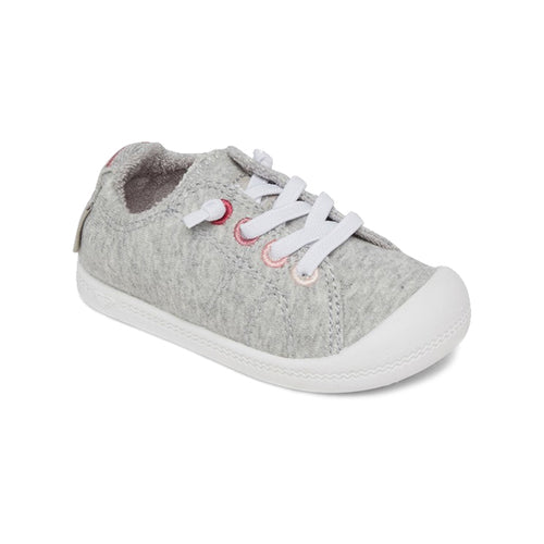 Roxy Toddlers Shoes - Bayshore Shoes - Ashpalt Grey