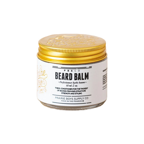 Prairie Boys Supply Co. Men's Grooming - Beard Balm - 2oz