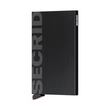 Secrid Unisex Wallets - Cardprotector - Laser Logo Black Brushed