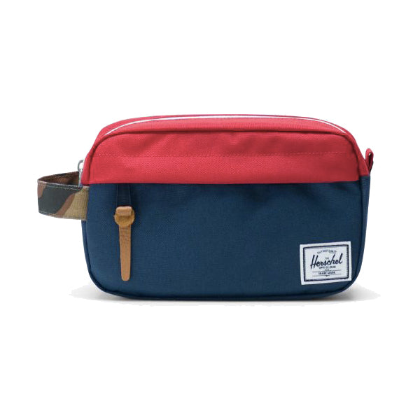 Herschel Supply Co. Toiletry Bags - Chapter - Navy/Red/Woodland Camo