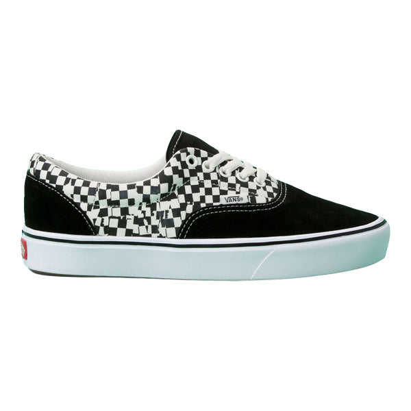 Vans Unisex Shoes - Comfycush Tear Check Era - Black/White
