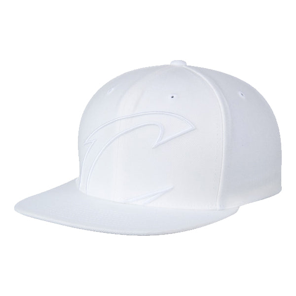 Mitchell & Ness Men's Hats - Cavaliers Cropped XL Logo Snapback - White