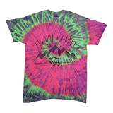 Prairie Supply Co. Unisex T-Shirts - Cultivated Mountain - Watermelon Tie-Dye/White