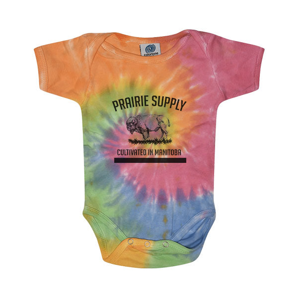 Prairie Supply Co. Onesies - Cultivated - Eternity/Black